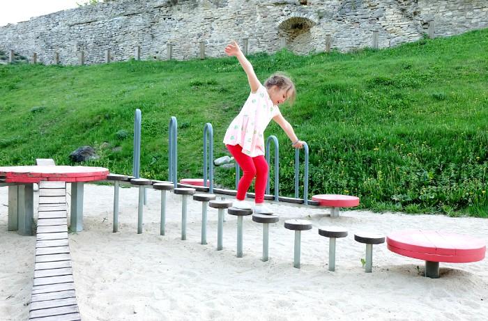 Haapsalu linnuse laste mänguväljak