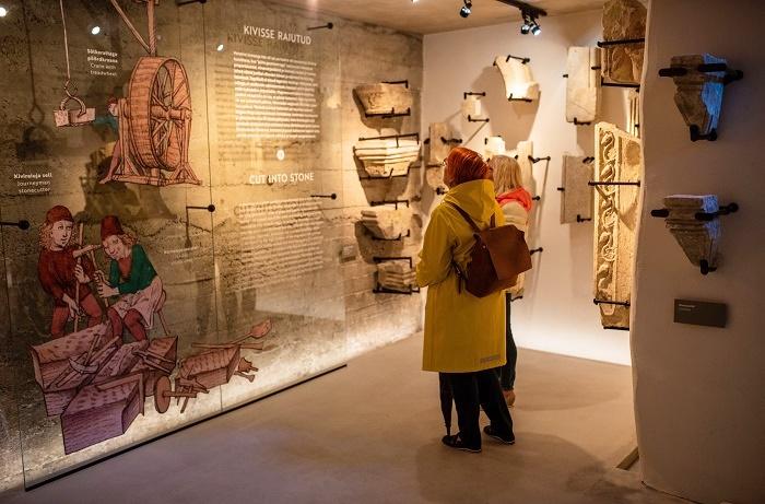 Haapsalu linnuse muuseumi ekspositsioon
