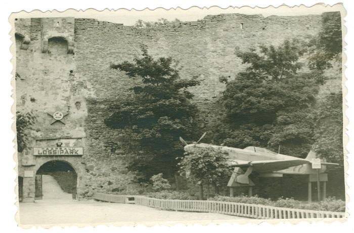 Haapsalu linnus 1952