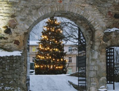 Talveõhtu Haapsalu vanalinnas