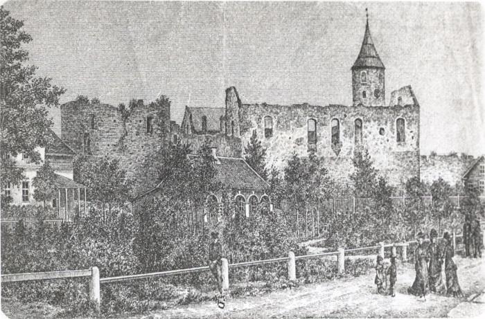 Haapsalu linnuse ajalugu