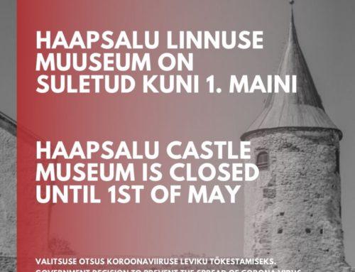 Haapsalu linnuse muuseum on 1. maini suletud